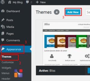 Cara Mengganti Template di WordPress