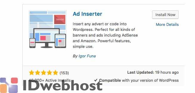 Cara Memasang Iklan di WordPress