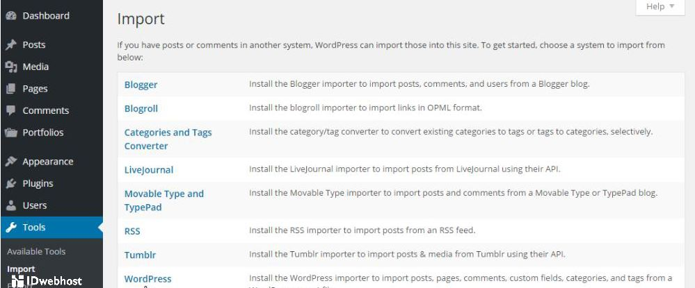 Import RSS di WordPress