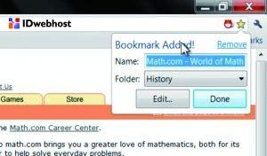 Memindahkan Halaman ke Domain Baru yang Tersimpan di Bookmark