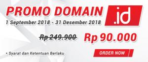 Dapatkan Promo Domain .ID Termurah Rp 90.000