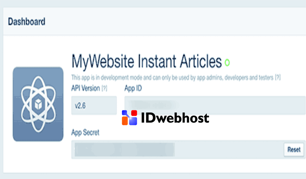 ID dan Kunci Aplikasi