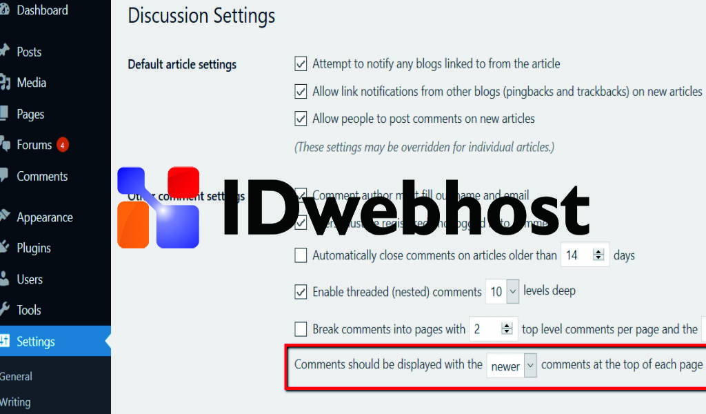 Menampilkan Komentar Terbaru di WordPress