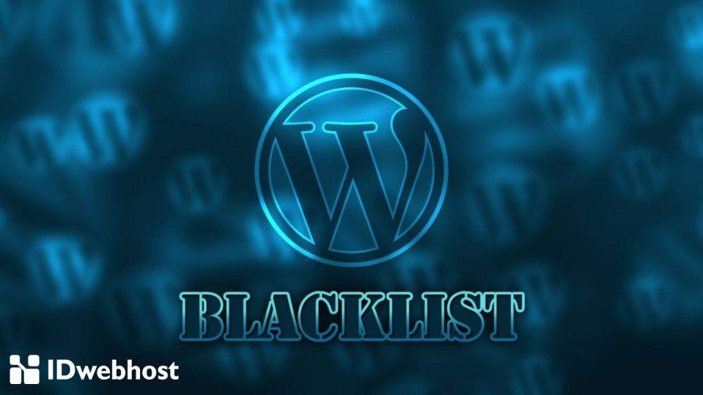 daftar hitam spam komentar