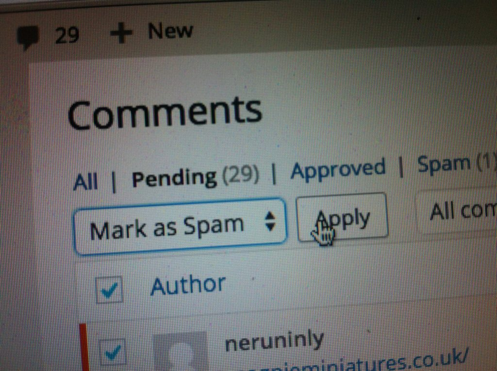 6 Cara Blok Komentar Spam Di Wordpress