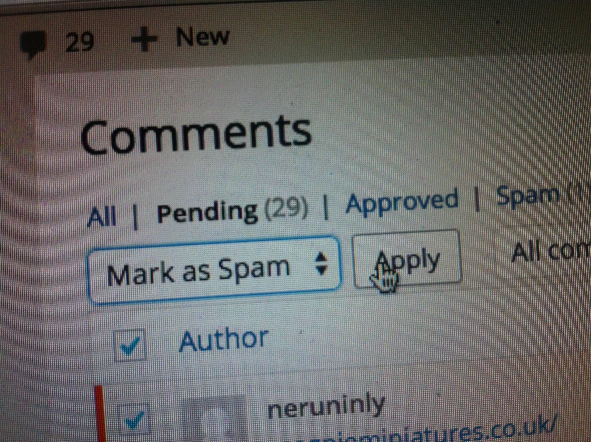 6 Cara Blok Komentar Spam Di Wordpress