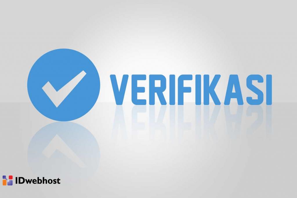 verifikasi informasi kontak anda