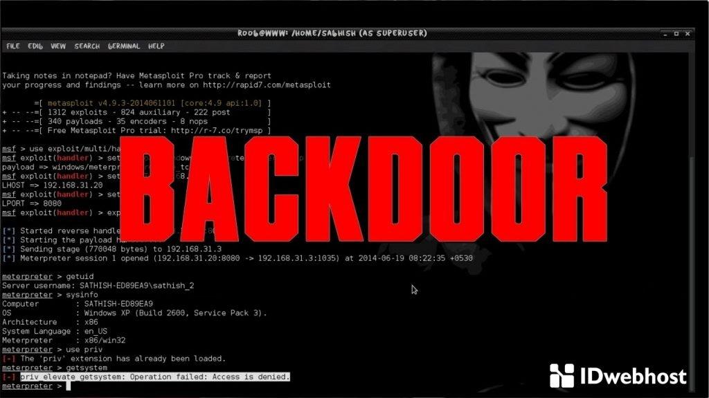 Apa Itu Backdoor
