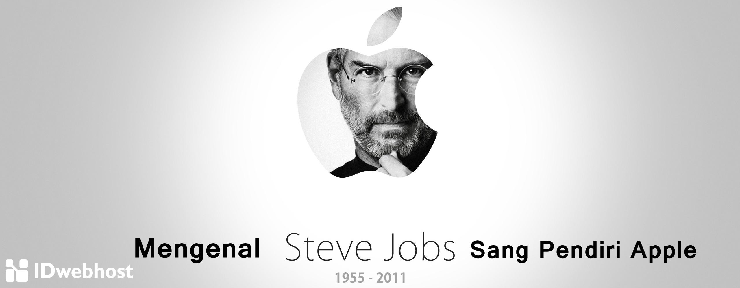 Mengenal Steve Jobs Sang Pendiri Apple