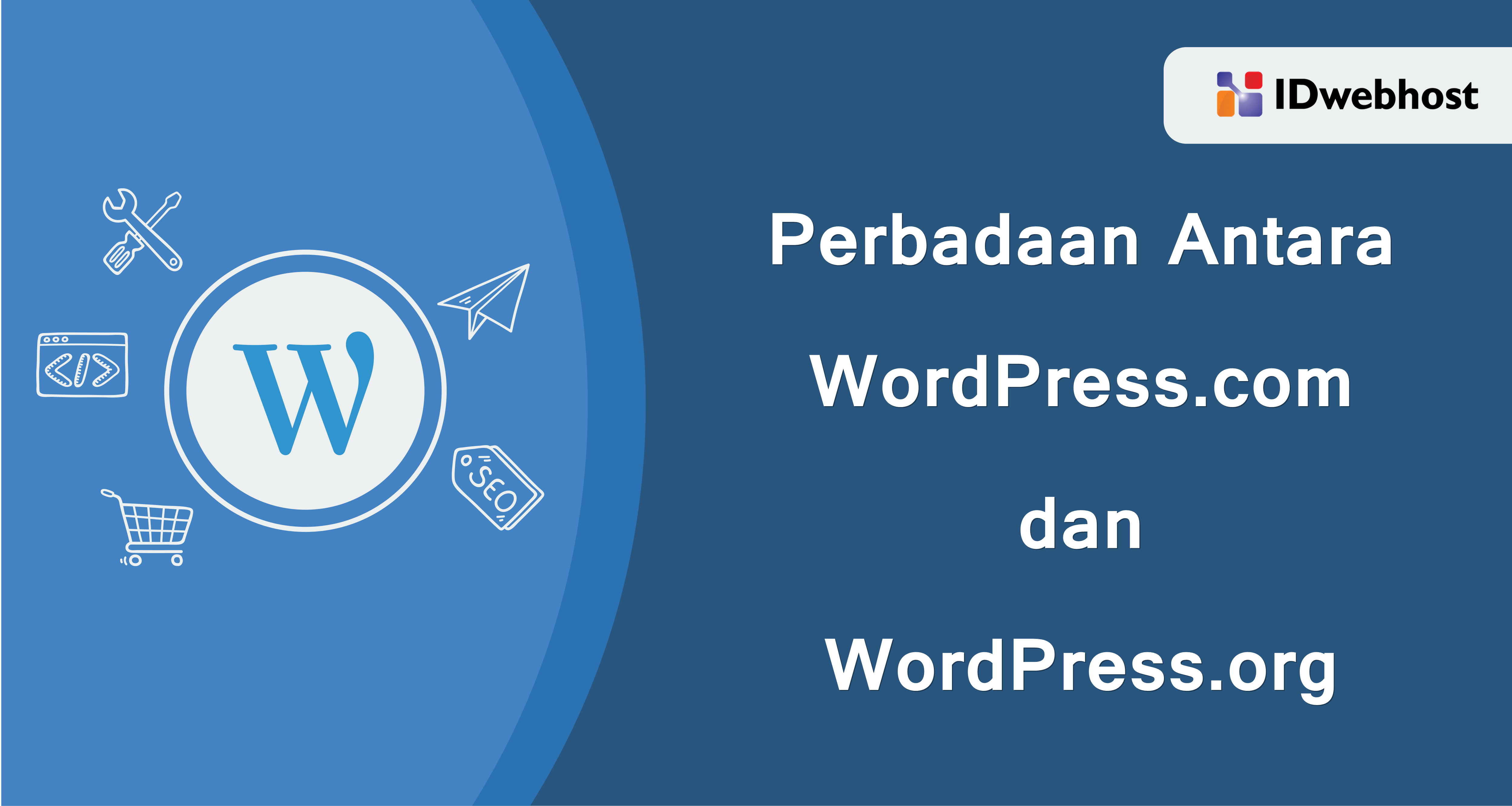 Perbedaan Antara WordPress.com dan WordPress.org