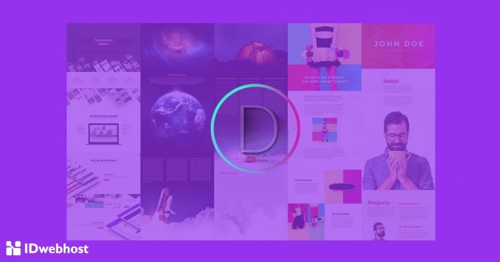 cara membuat website single page dengan divi