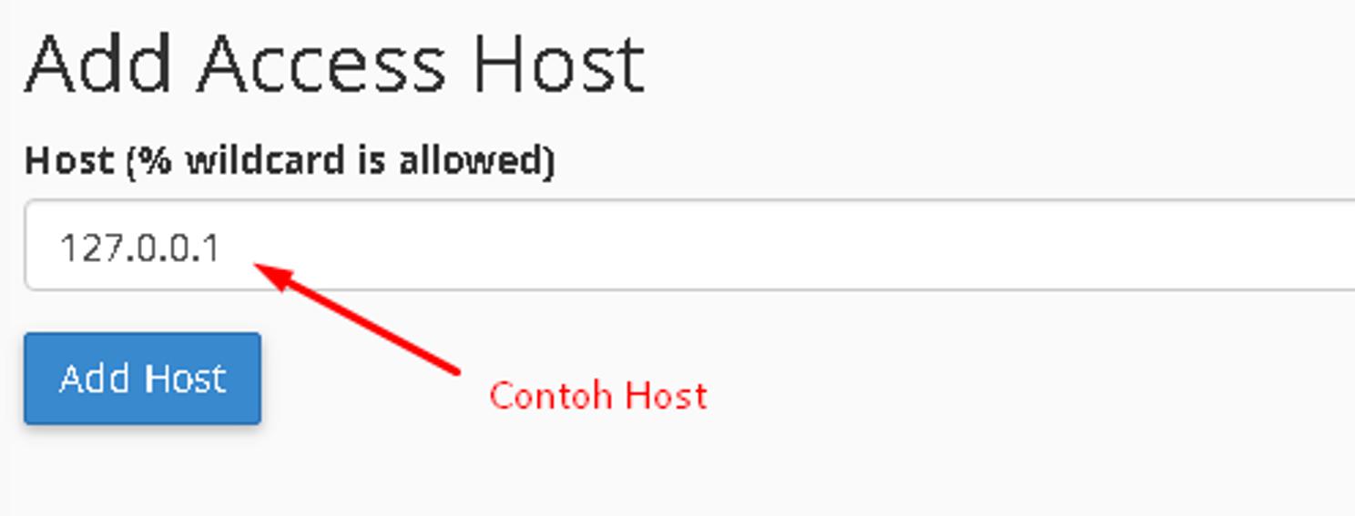 Cara Remote MySQL Yang Tepat