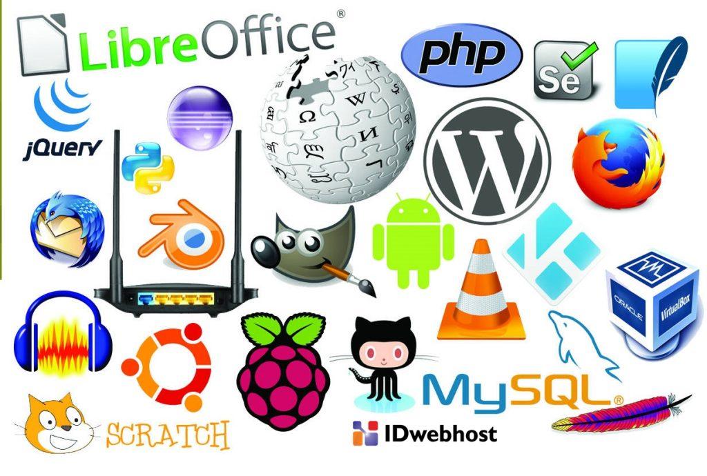 contoh software open source terpopuler