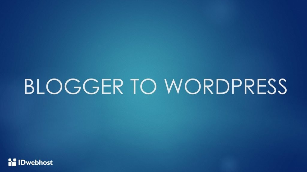 export blogger ke wordpress