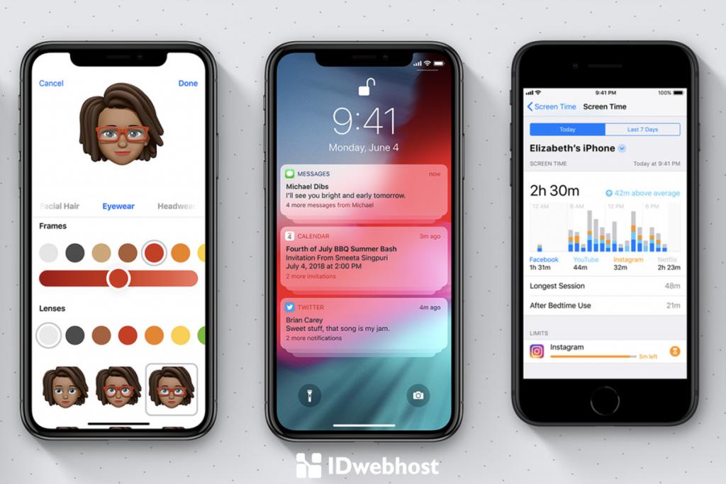 fitur terbaru iOS 12