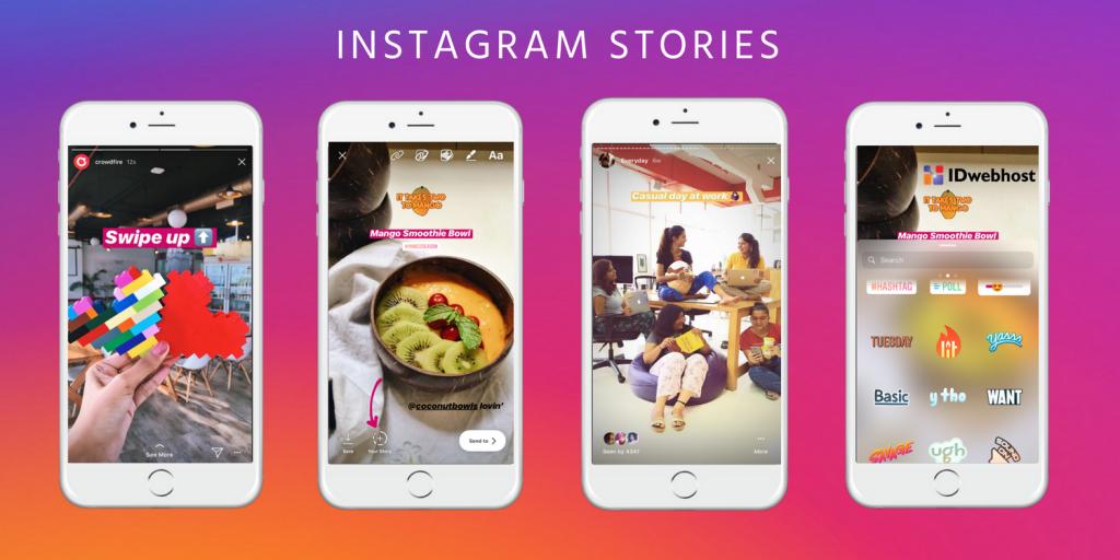 instagram marketing story