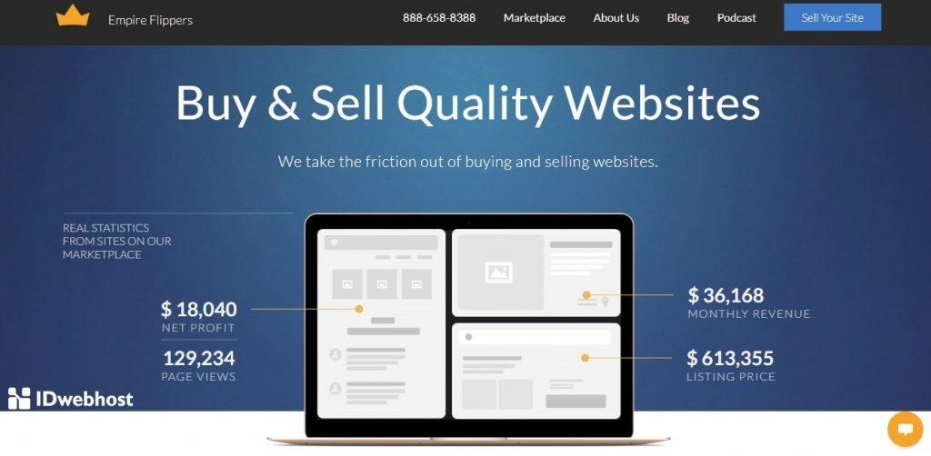 jual dan beli website