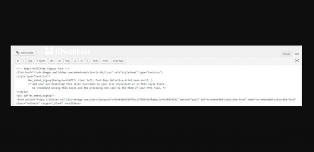 kode formulir pendaftaran akun baru