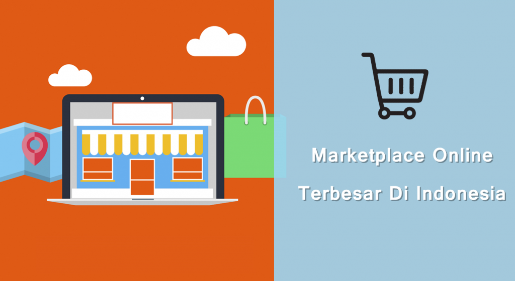 marketplace online terbesar di indonesia