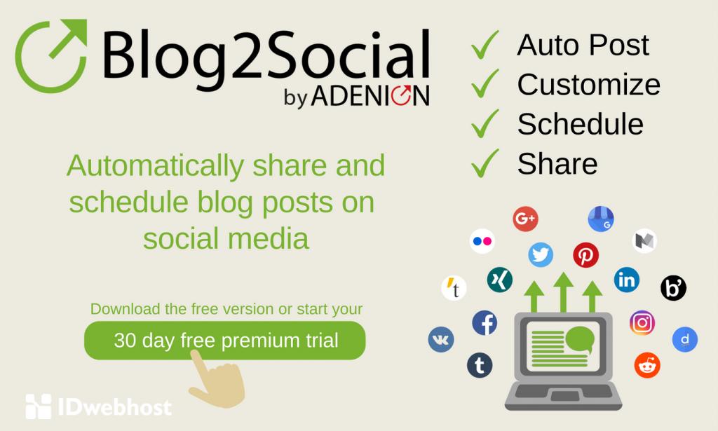 plugin blog2social wordpress