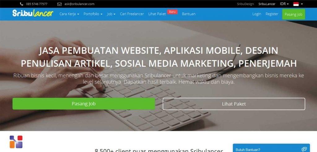 situs freelance Sribulancer