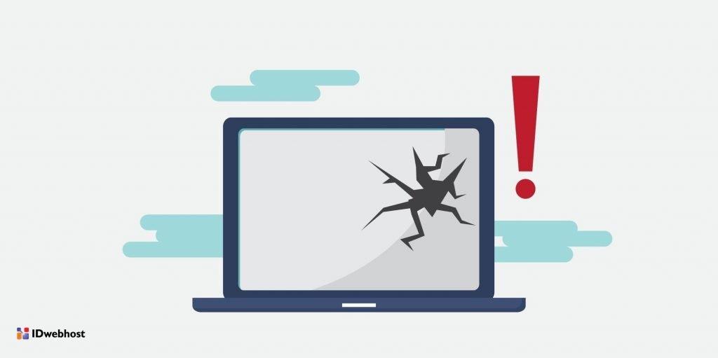 software bajakan menyebabkan website rusak