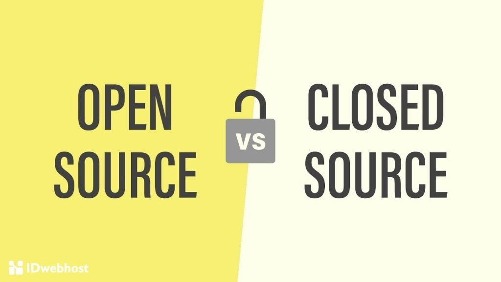 software open source vs close source