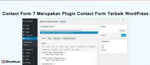 Contact Form 7 Merupakan Plugin Contact Form Terbaik WordPress