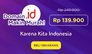 Promo Domain .ID Hanya Rp 139.900