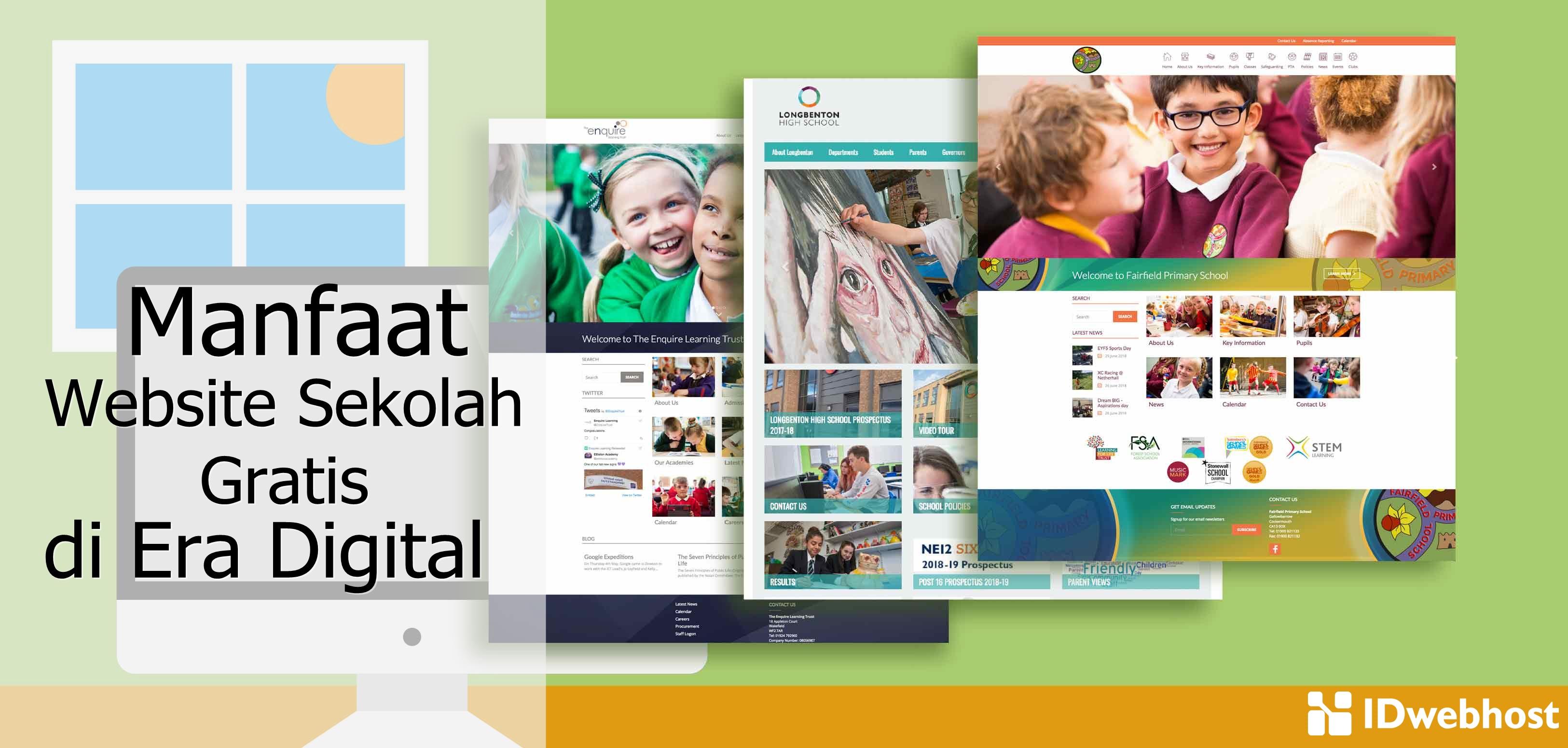 Manfaat Website Sekolah Gratis di Era Digital