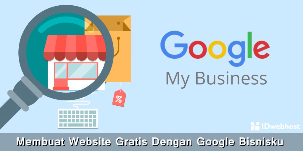Membuat Website Gratis Dengan Google Bisnisku