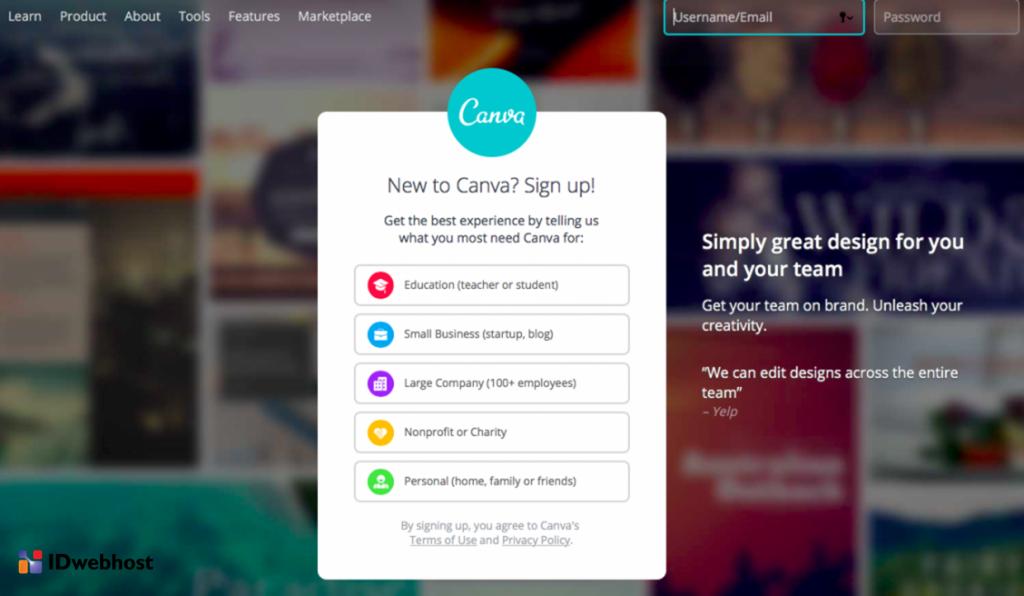 canva design logo online