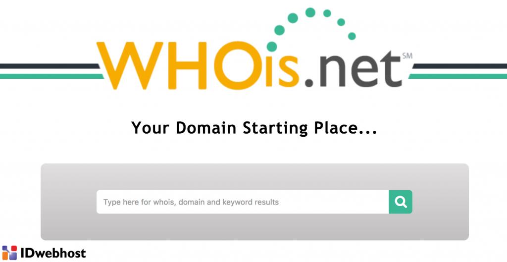 cara menggunakan whois domain