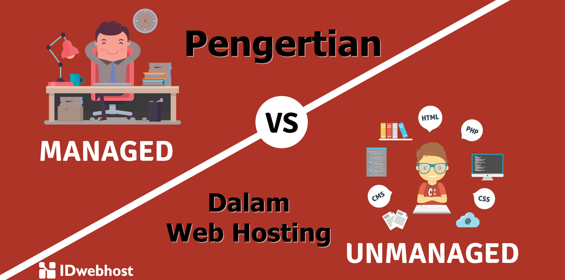 Pengertian Managed dan Unmanaged dalam Web Hosting