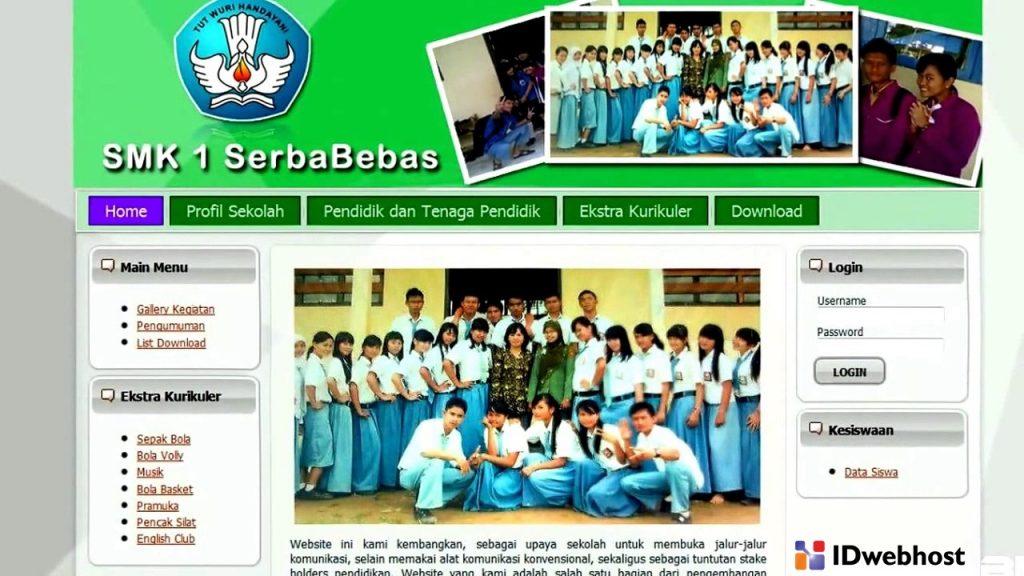 website sekolah memberikan Kemudahan bagi orang tua
