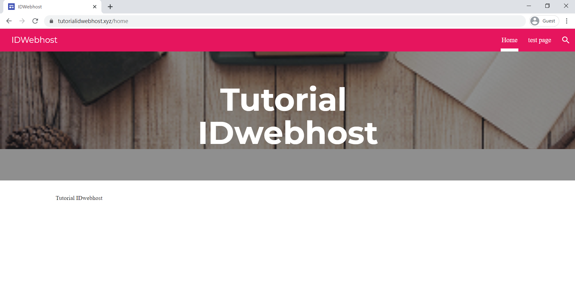 Custom Domain Google Sites IDwebhost