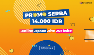 Serbu Promo Domain Serba 14.000 IDR