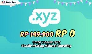 Beli Hosting Gratis Domain .XYZ