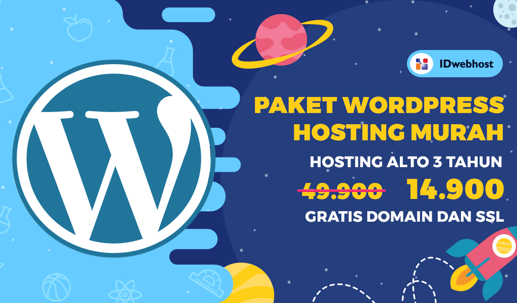 Promo Wordpress Hosting Hanya 14.900 IDR