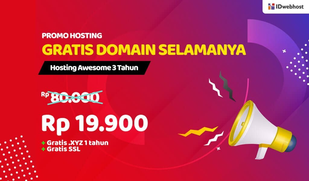 Hosting Awesome Promo Lagi
