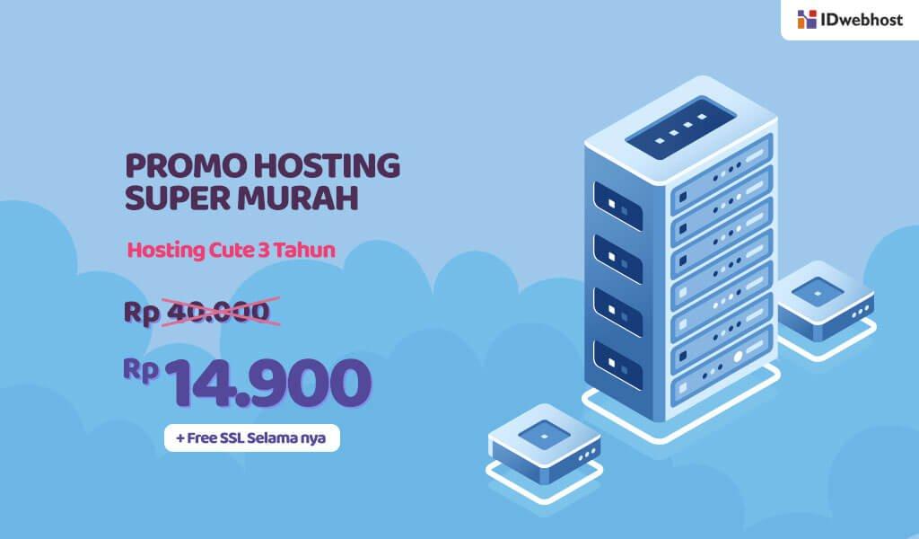 Promo Hosting CUTE Super Murah