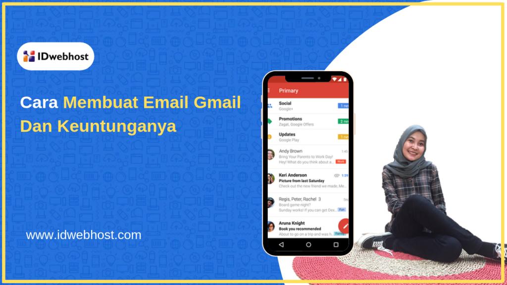 Cara Membuat Email Menggunakan Gmail