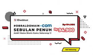 Obral Domain .COM 94.900 IDR
