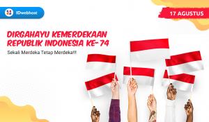 Selamat Hari Kemerdekaan 17 Agustus 2019