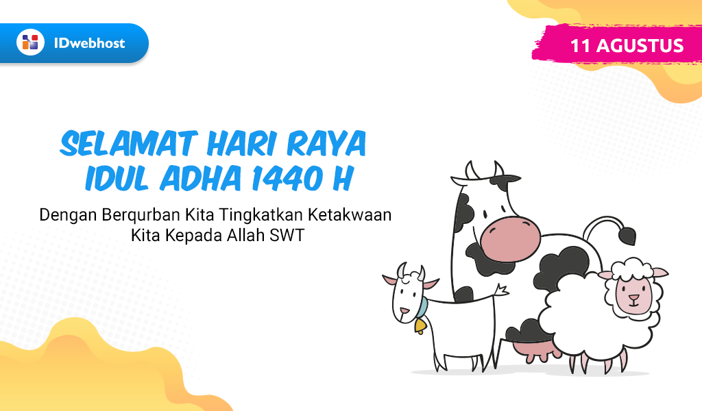 Selamat Hari Raya Idul Adha 1440 H / 2019 M