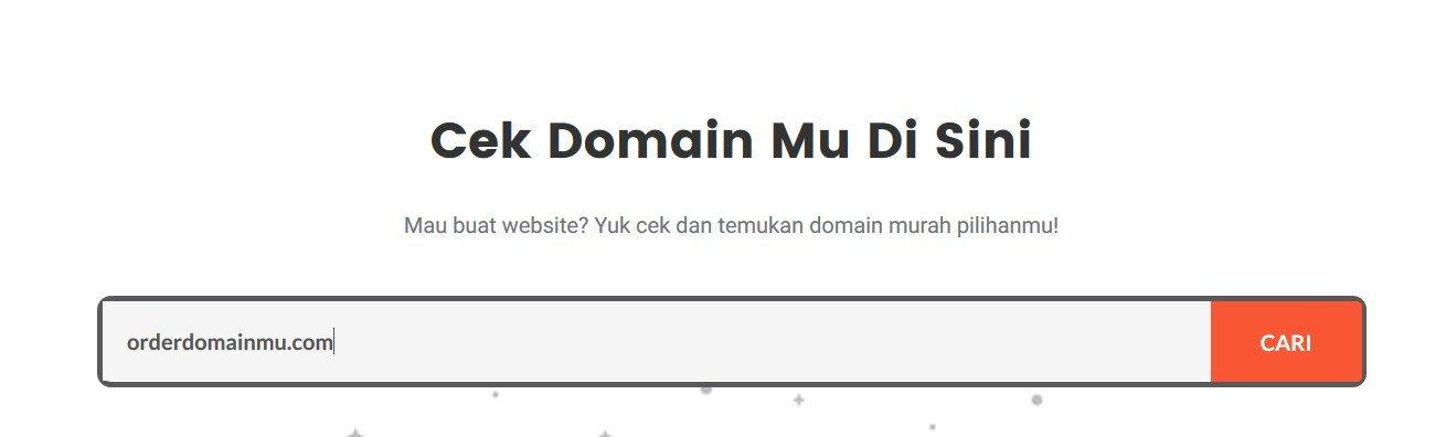 cek-domain IDwebhost