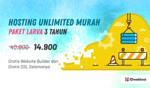 Promo Murah Unlimited Hosting