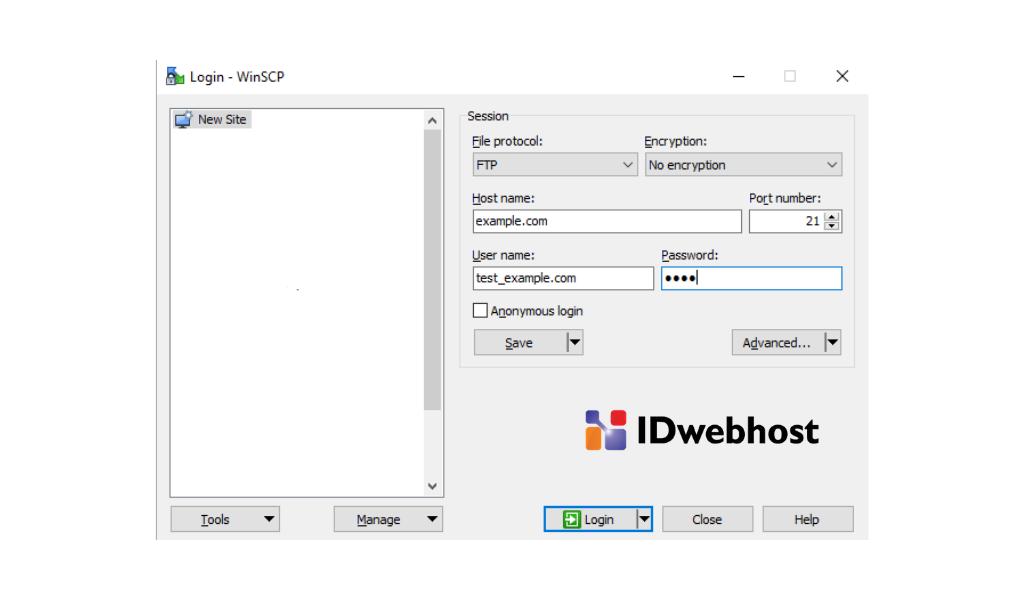 Cara Membuat Akun FTP di Webuzo