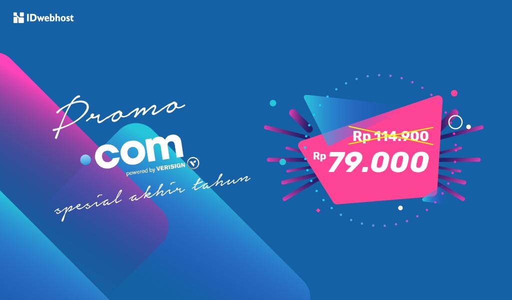 Promo .COM Spesial Akhir Tahun Rp79.000