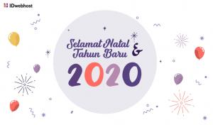 Selamat Natal Dan Tahun Baru 2020